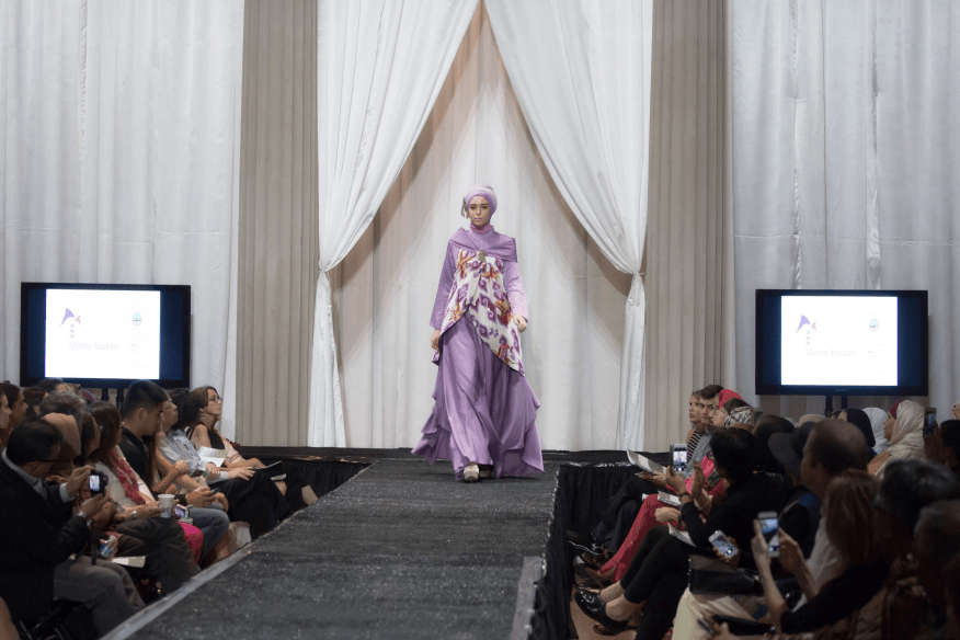 A scene from the Performing Indonesia fashion show on September 10.