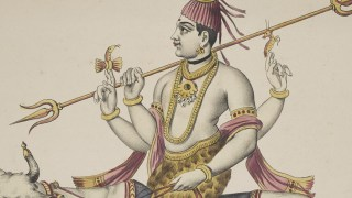 "Detail image: ""Îshâna ou Shiva"" (Shiva). Robert J. Del Bontà collection, E563"