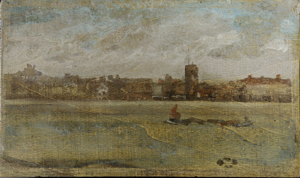Painting of Chelsea Old Church.