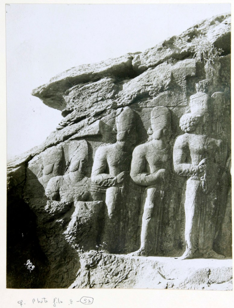 Photo, Sevruguin, Antoin,; b&w ; 12.1 cm. x 15.4 cm.; The Ernst Herzfeld papers. Freer Gallery of Art and Arthur M. Sackler Gallery Archives. Smithsonian Institution, Washington, D.C.