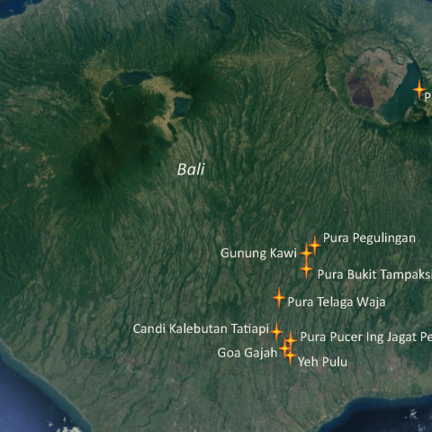 "Sacred sites mentioned in ""Indonesia Intrepid I and II"""