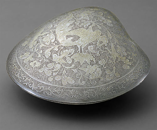 Container China Tang dynasty, 700–750 Silver and gilt Freer Gallery of Art Purchase F1930.50