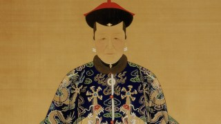 Detail: Portrait of Lirongbao's Wife