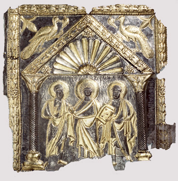 The Sion Treasure Book Covers (Christ between Saints Peter and Paul)