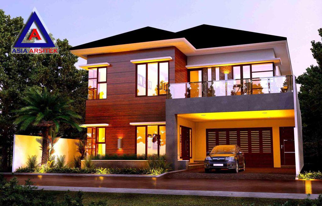 Desain Rumah Tropis Model 2