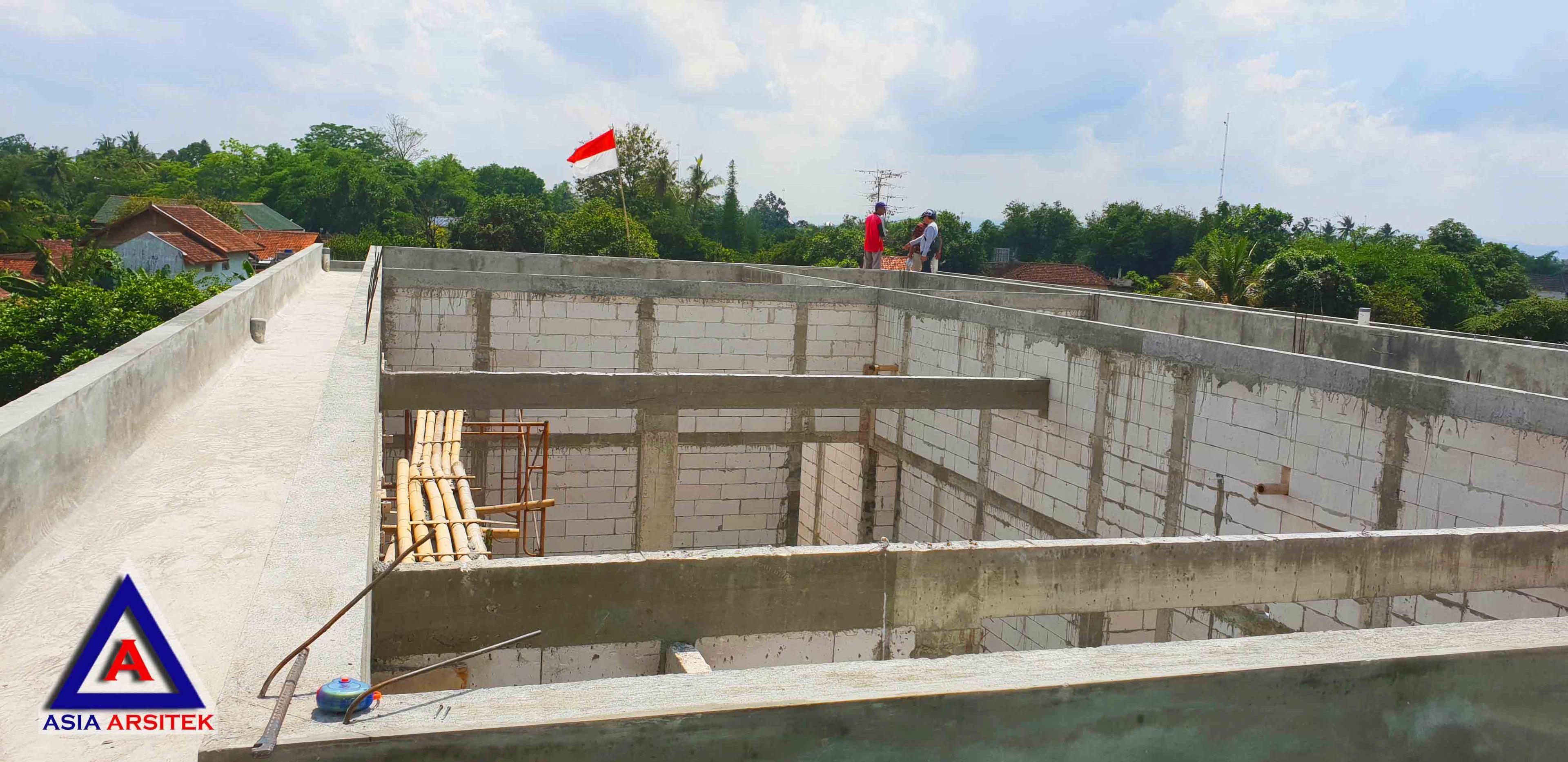 Realisasi Desain Rumah Classic Pak Wagiyanto Di Yogyakarta Kunjungan November 2018