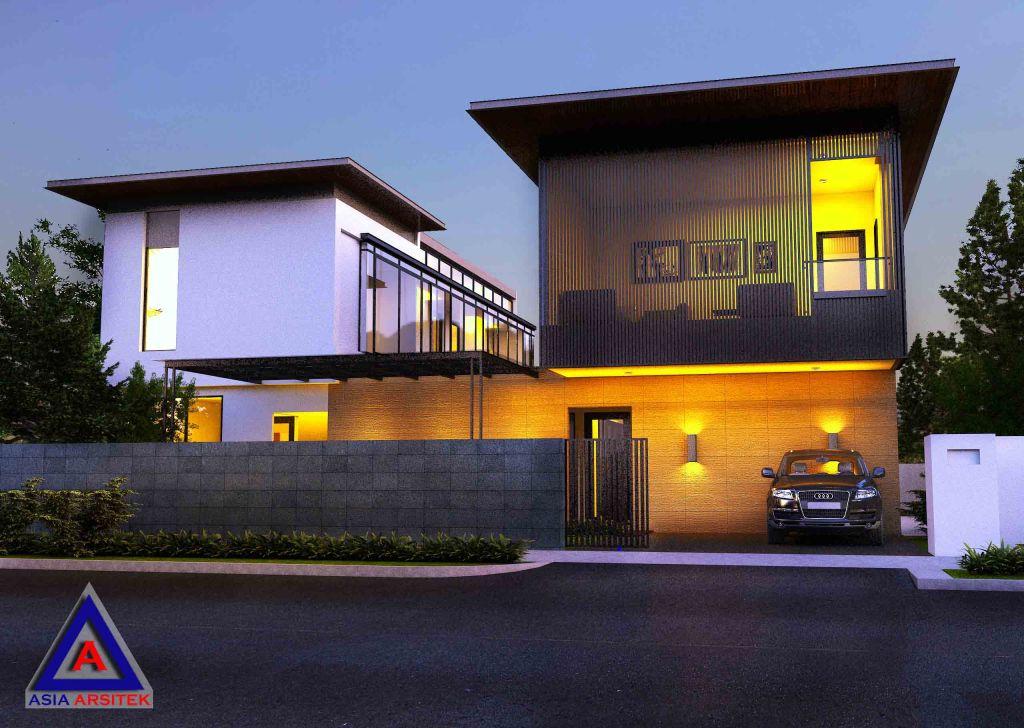 Desain Rumah Modern Model 1