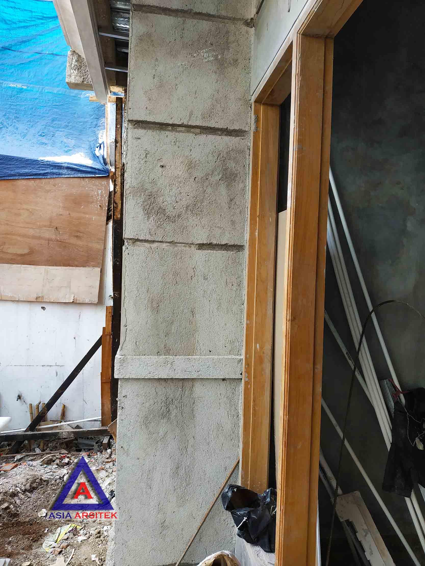 Realisasi Desain Rumah Tropis Ibu Melany Di Jakarta Timur Kunjungan Januari 2019