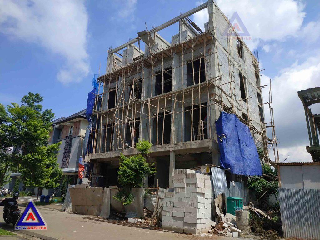Realisasi Desain Rumah Classic Pak Hendra Joe Di BSD Kunjungan Februari 2019