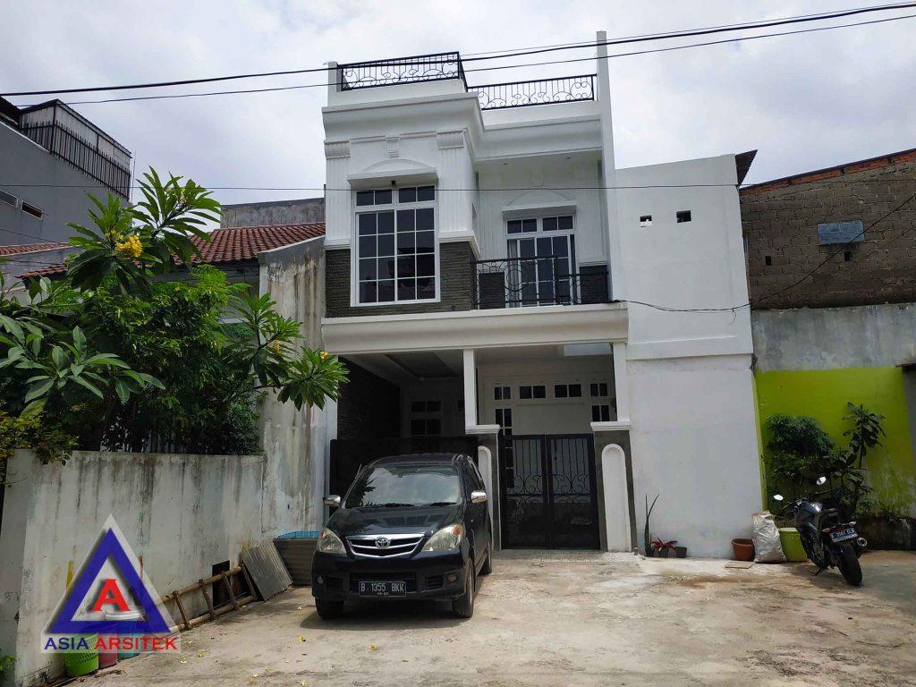Realisasi Desain Rumah Minimalis Bu Alifah Di Jakarta Barat