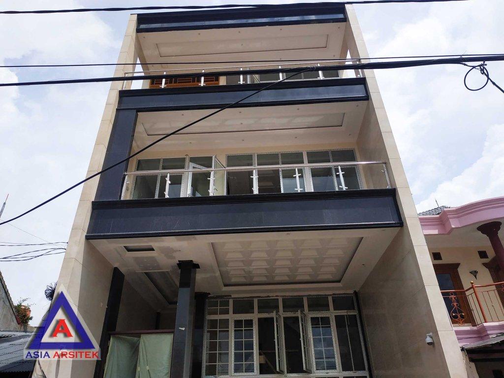 Realisasi Desain Rumah Modern Bu Novi Di Jakarta Barat Kunjungan Februari 2019