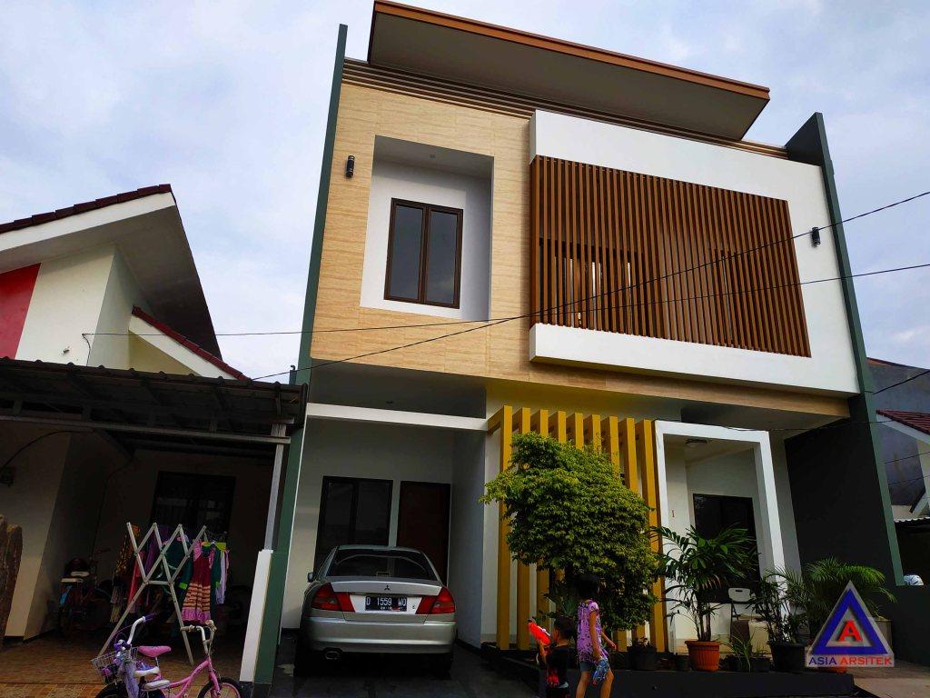 Realisasi Desain Rumah Minimalis Pak Adi R Di Bekasi