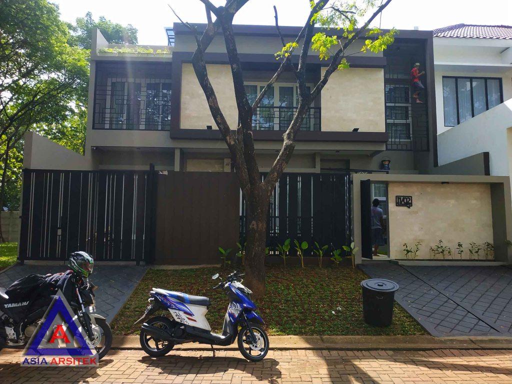 Realisasi Desain Rumah Minimalis Pak Fanur Di Tangerang