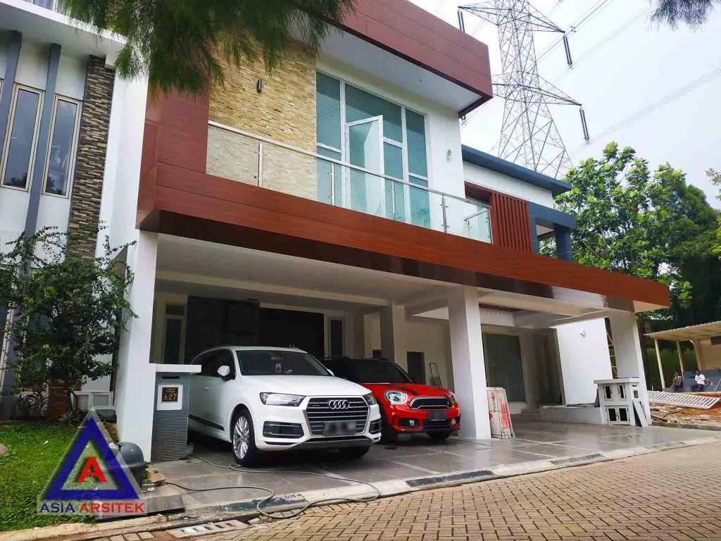 Realisasi Desain Rumah Modern Pak Ananda Di Bintaro Jaya Tangerang Selatan Kunjungan Februari 2019