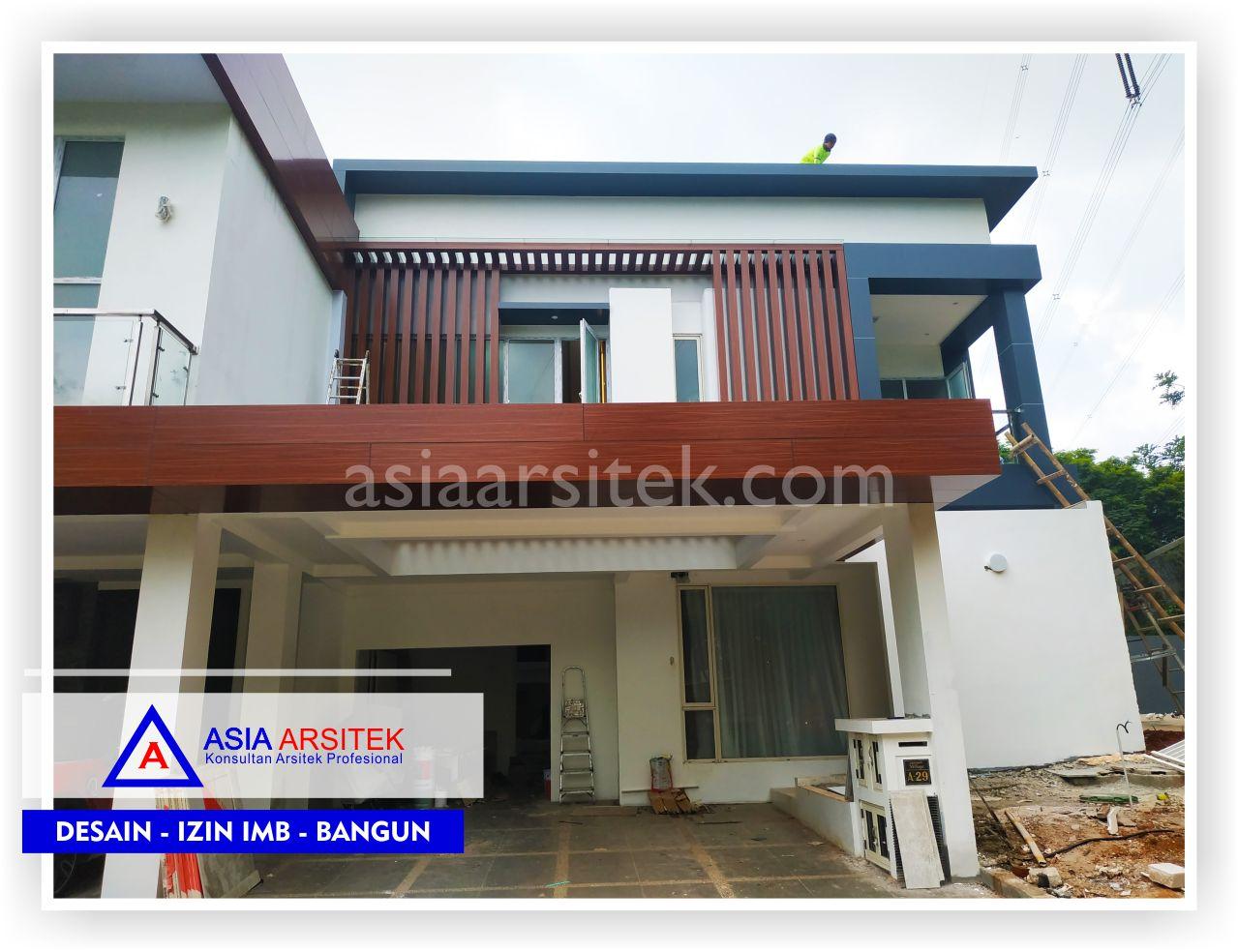 Area Carport Rumah Minimalis Bpk Ananda Di Tangerang-Jakarta-Bogor-Bekasi-Bandung-Jasa Konsultan Arsitek Profesional - Desain Rumah Mewah - Arsitek Gambar Desain Rumah Klasik Mewah 2