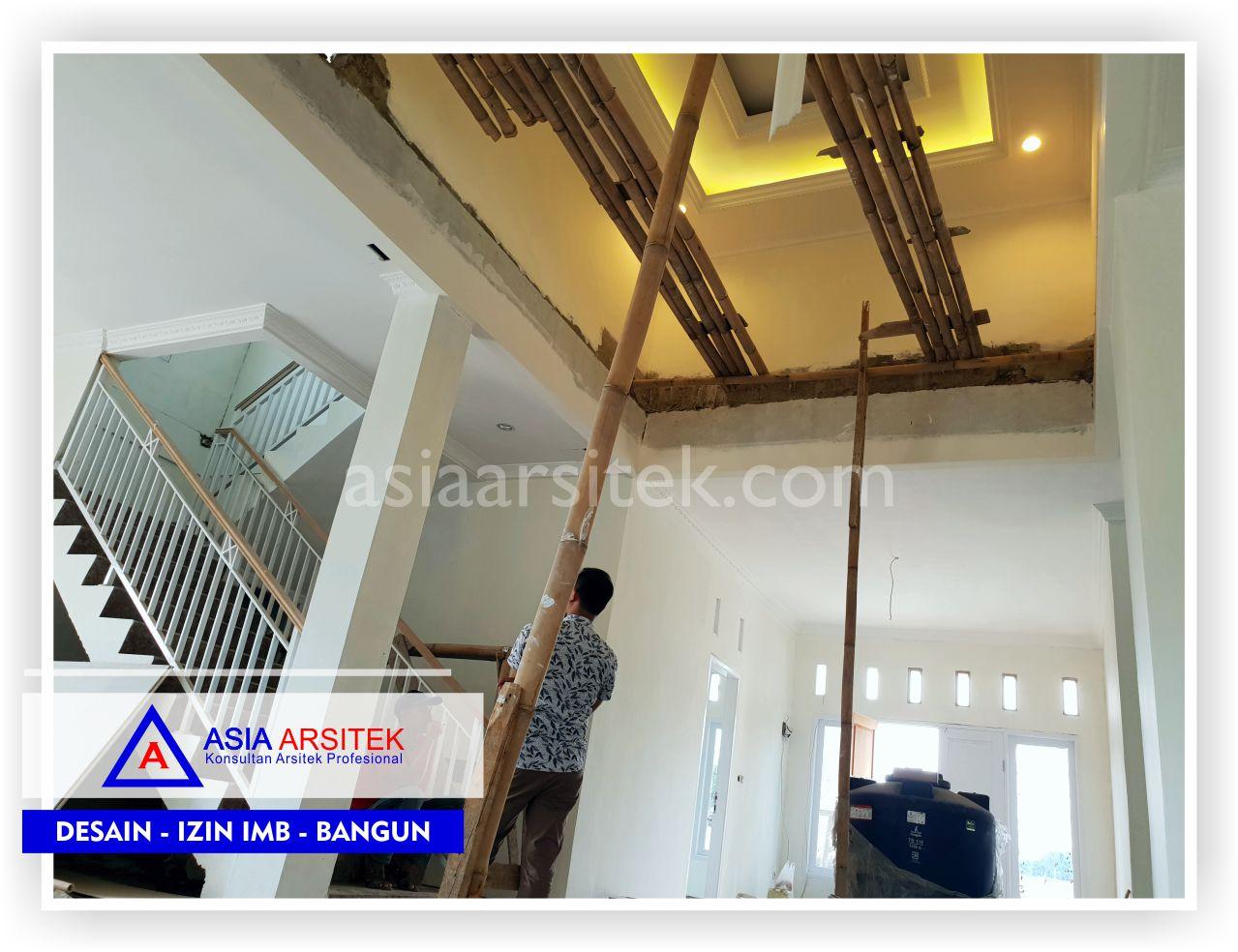 Area Tangga Rumah Arsitektur Belanda Bu Lisda - Arsitek Desain Rumah Klasik Mewah - Rumah Minimalis Modern Di Bandung-Tangerang-Bogor-Bekasi-Jakarta-Jasa Konsultan Desain Arsitek Profesional (2)
