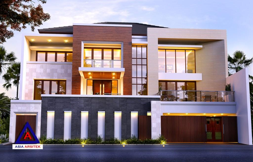 Desain Rumah Tropis Modern Mewah Di Jakarta Utara 4