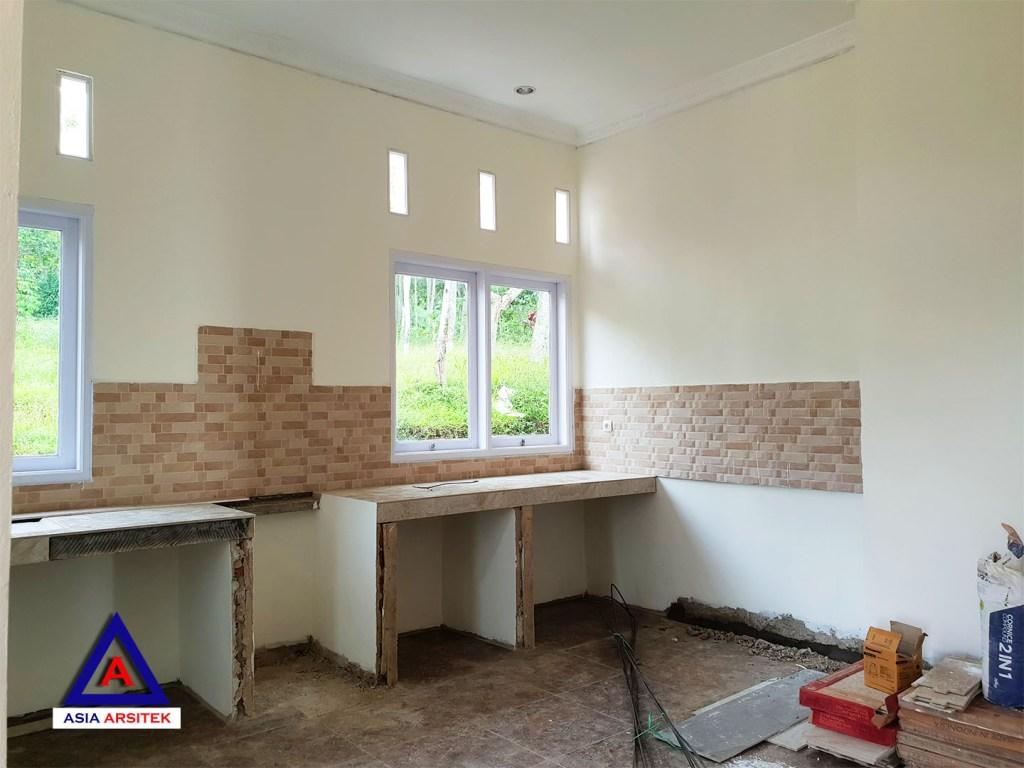 Pekerjaan Area Dapur Desain Rumah Classic Klasik Mewah Belanda Di Bandung