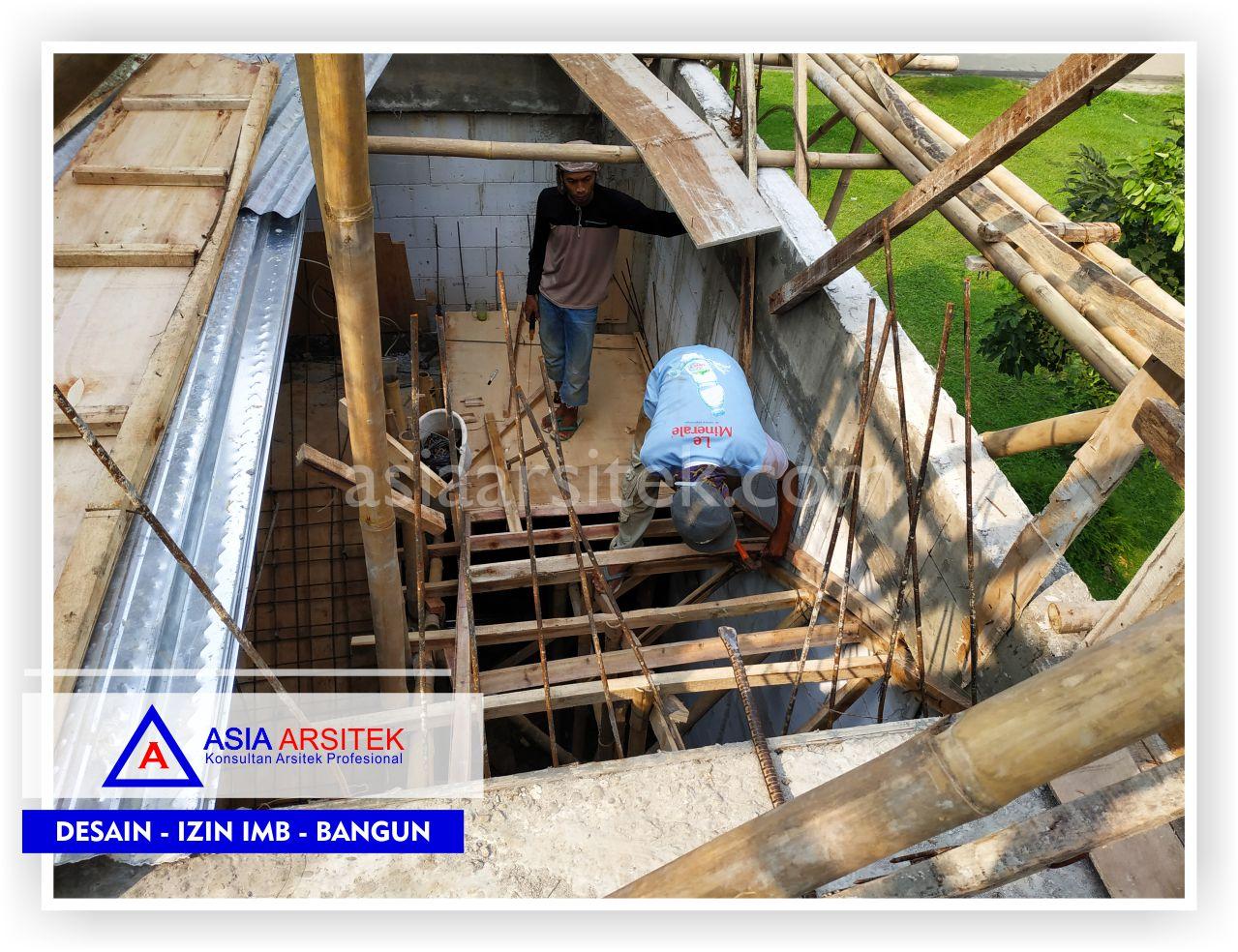 Pengerjaan Kontruksi Tangga Rumah Bpk Hendra Joe - Arsitek Desain Rumah Minimalis Modern Di Tangerang-Jakarta-Bogor-Bekasi-Bandung-Jasa Konsultan Desain Arsitek Profesional (1)