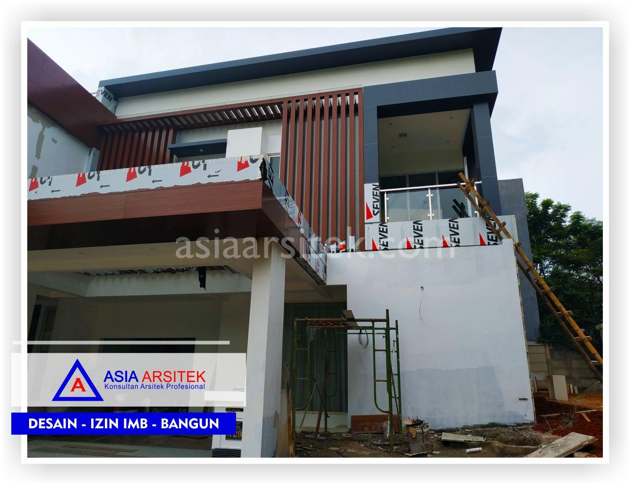 Pengerjaan Tampak Depan Rumah Minimalis Bpk Ananda Di Tangerang-Jakarta-Bogor-Bekasi-Bandung-Jasa Konsultan Arsitek Profesional - Desain Rumah Mewah - Arsitek Gambar Desain Rumah Klasik Mewah