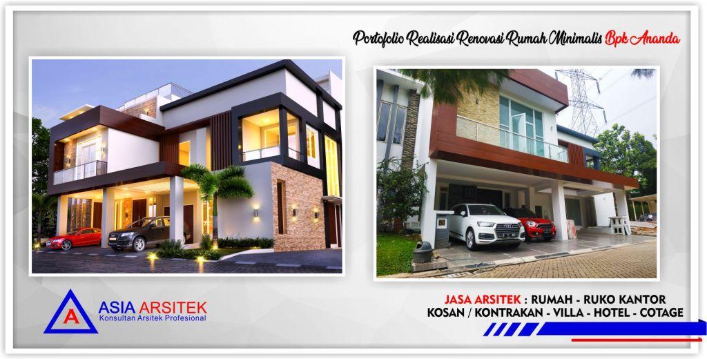 Desain Rumah Ruko Minimalis 1 Lantai portofolio realisasi proyek renovasi rumah minimalis 2