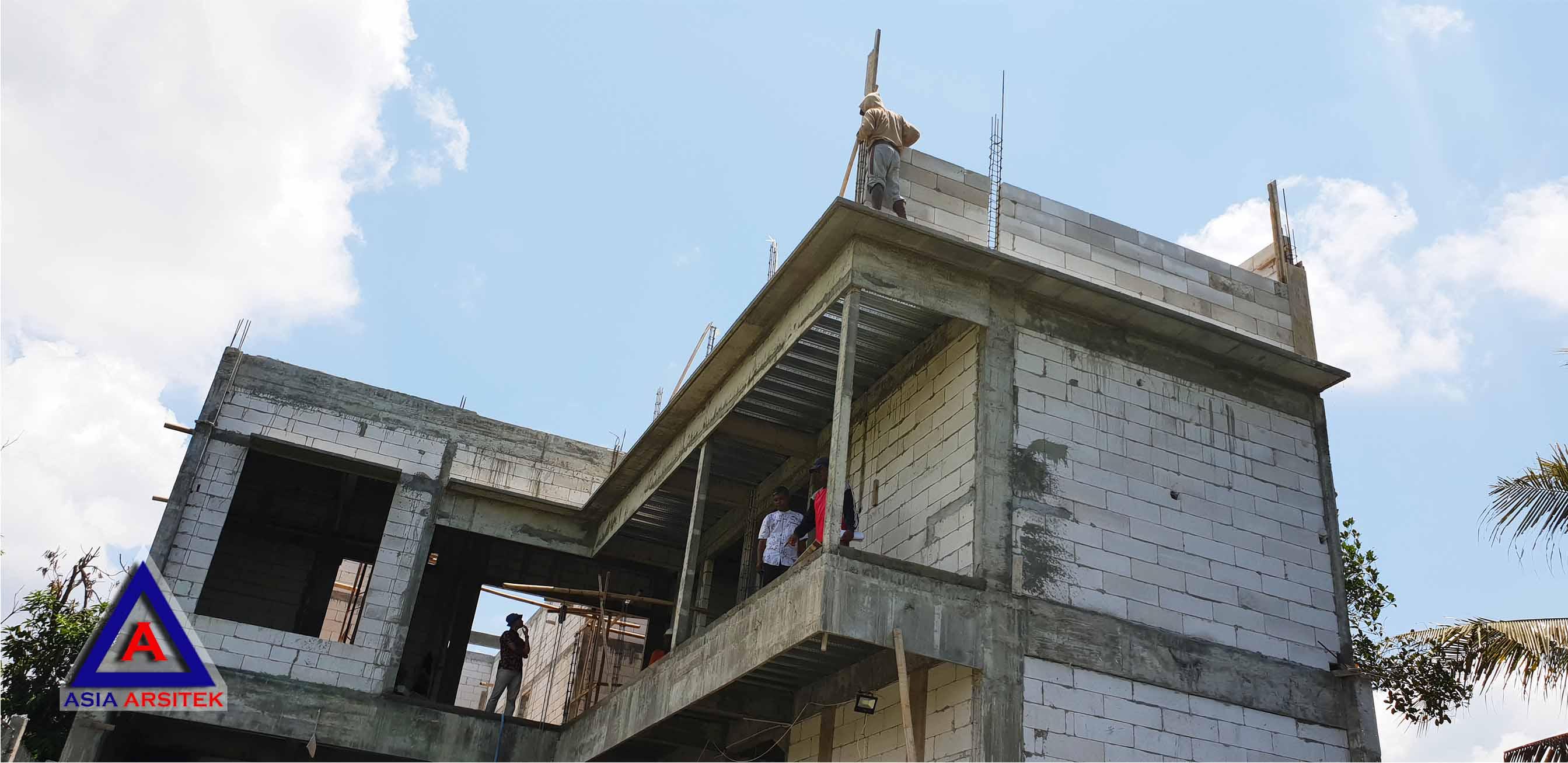 Pemasangan Hebel Jasa Desain Rumah Klasik/Classic Mewah Pak Wagiyanto Di Yogyakarta