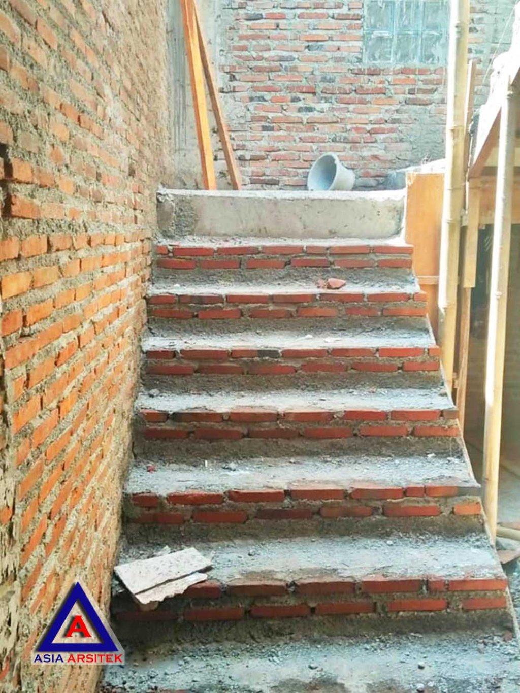 Proses Pembuatan Tangga Jasa Desain Rumah Klasik/Classic Mewah Bu Elisa Di Jakarta Timur