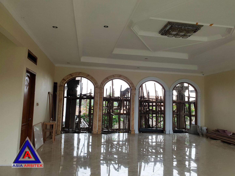 Realisasi Desain Rumah Klasik Classic Mewah Ibu Iis Di Bandung Kunjungan Feb 2019