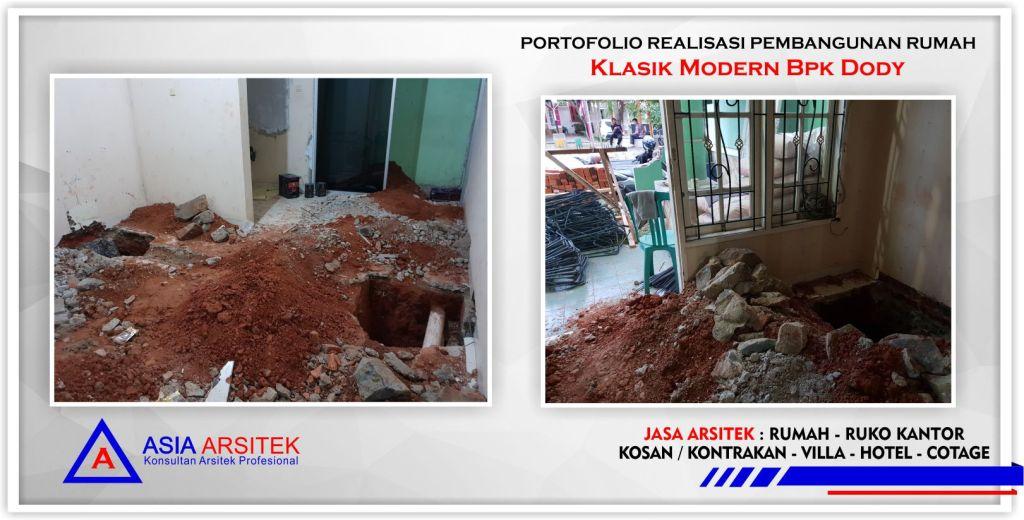 Realisasi Kunjungan Rumah Classic Klasik Bpk Dody Di Tangerang-Jakarta-Bogor-Bekasi-Bandung-Jasa Konsultan Desain Arsitek Profesional - Desain Rumah Mewah - Arsitek Gambar Desain Rumah Klasik 1