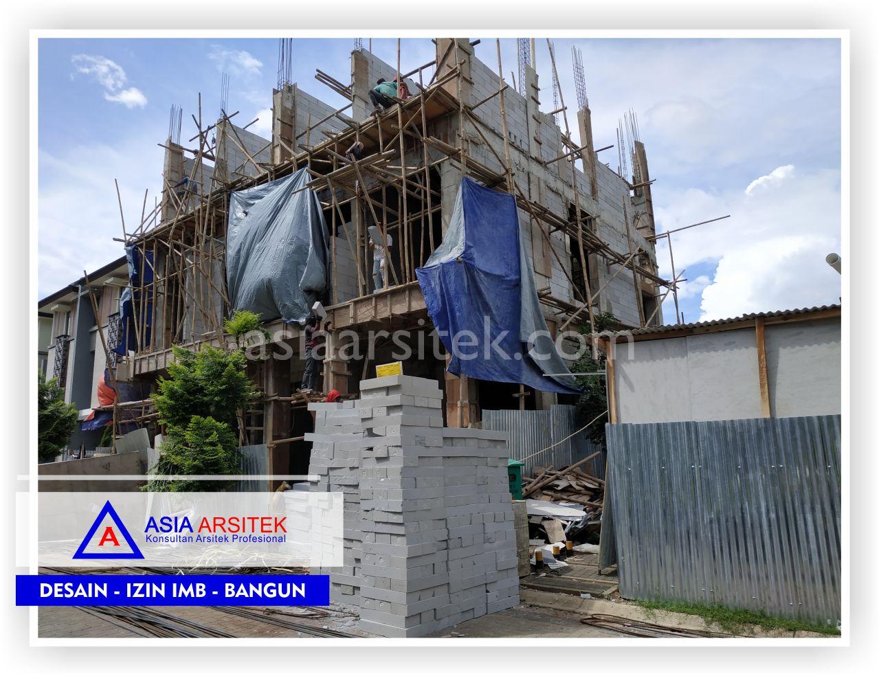 Tampak Depan Rumah Bpk Hendra Joe - Arsitek Desain Rumah Minimalis Modern Di Tangerang-Jakarta-Bogor-Bekasi-Bandung-Jasa Konsultan Desain Arsitek Profesional (3)