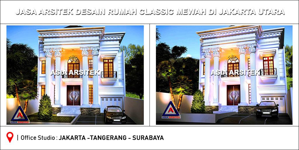 Jasa Arsitek Desain Rumah Classic Klasik Mewah Di Indonesia 1 Jakarta Utara