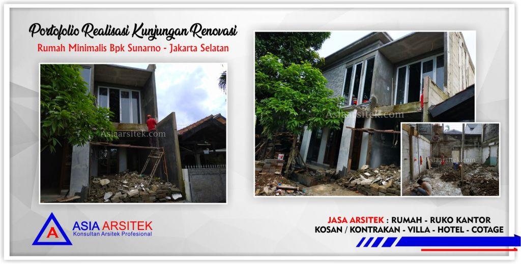 Warna Cat Rumah Minimalis Ruko kunjungan 5 realisasi renovasi total rumah minimalis 2 lt