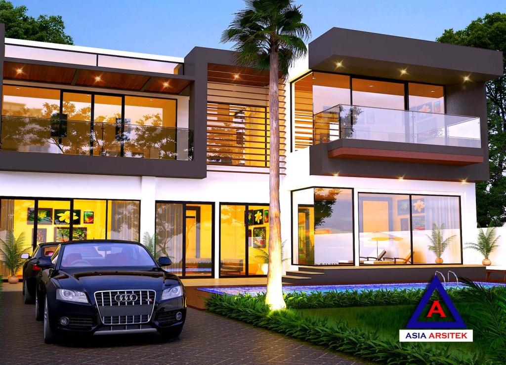 Jasa Arsitek Desain Gambar Rumah Mewah Minimalis Modern Di Semarang 6