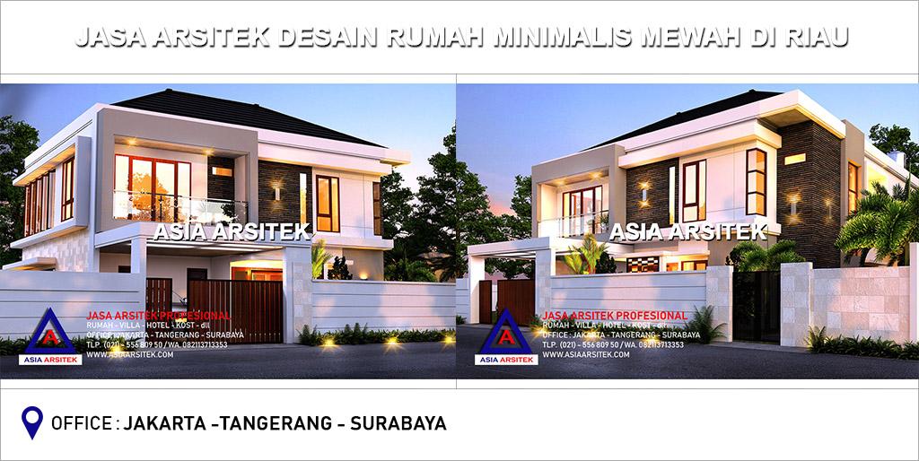 Jasa Arsitek Desain Gambar Rumah Minimalis Mewah Di Riau