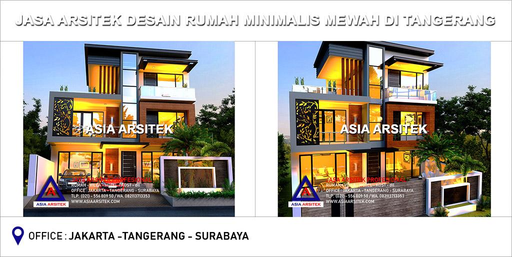 Jasa Arsitek Desain Gambar Rumah Minimalis Mewah Di Tangerang