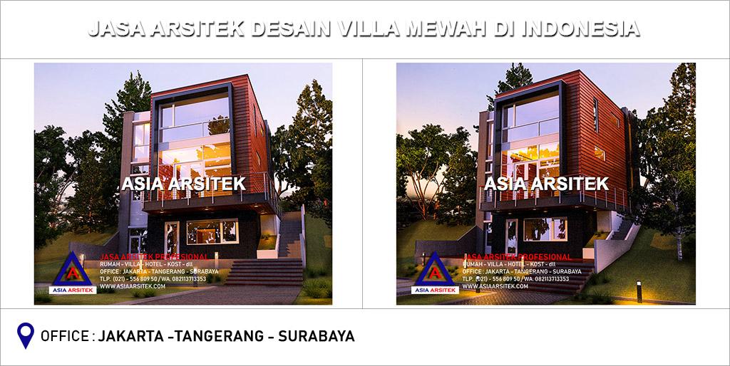 Jasa Arsitek Desain Villa Mewah Minimalis Modern Di Indonesia 04