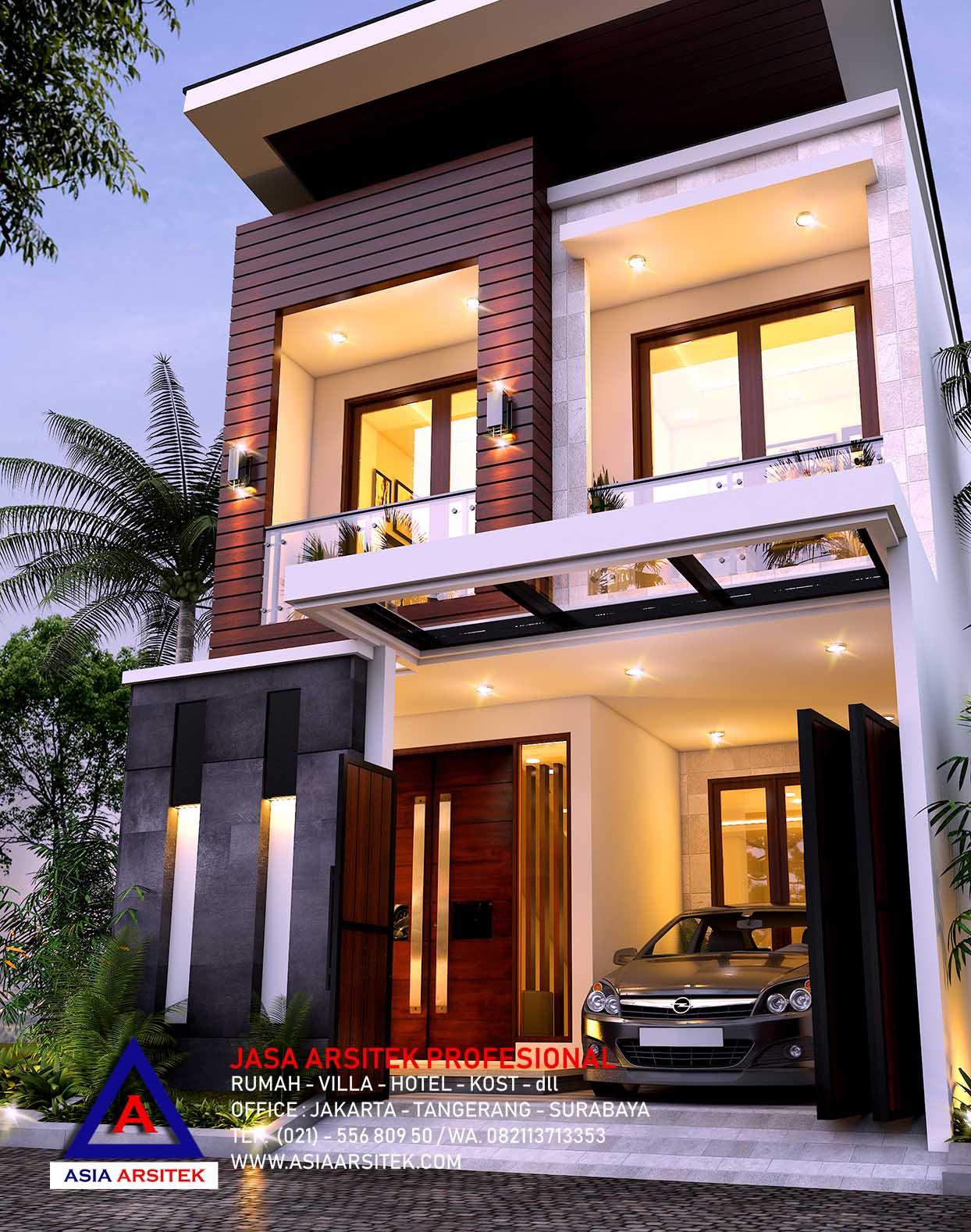 Jasa Arsitek Desain Rumah Tropis Modern Mewah Di Jakarta Timur 10