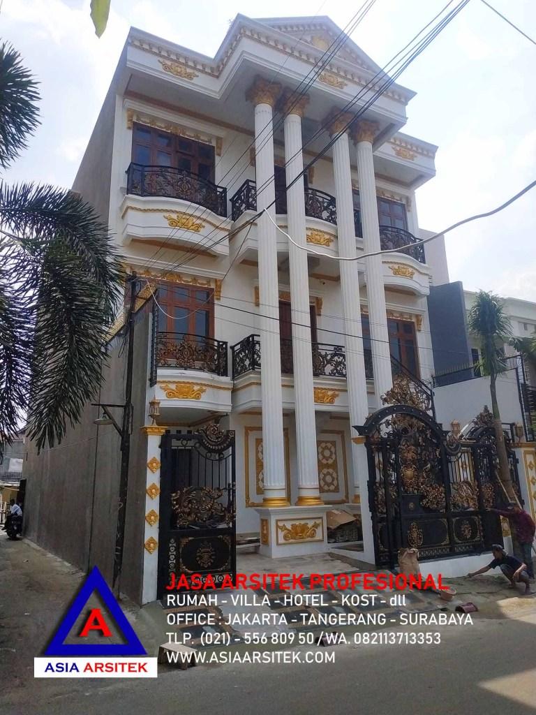 Realisasi Desain Rumah Mewah Klasik Di Jakarta Kunjungan Mei 2019
