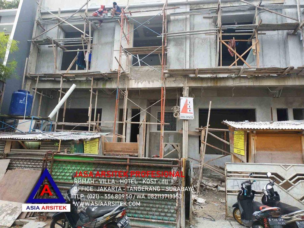Realisasi Desain Rumah Minimalis 2 Lantai Pak Alvian Di Jakarta Mei 19
