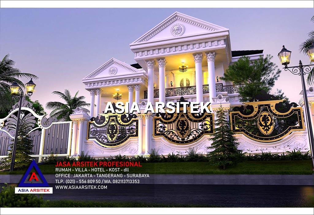 Jasa Desain Rumah Mewah Klasik Di Kebon Jeruk Jakarta Barat