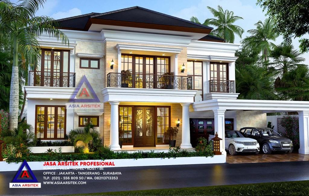 Jasa Arsitek BSD Tangerang Banten Desain Rumah Ibu Annis