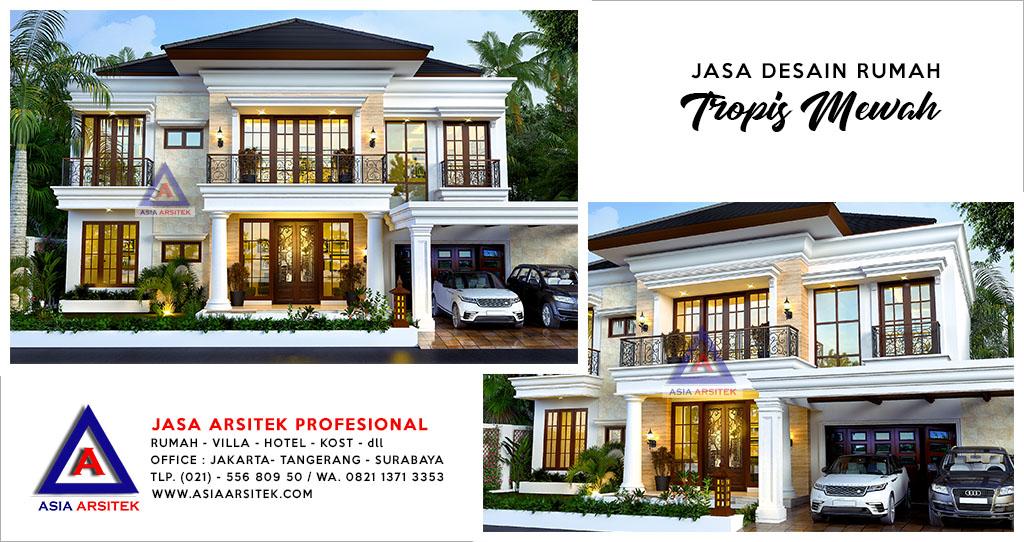 Jasa Arsitek BSD Tangerang Banten Desain Rumah Ibu Annis - Asia Arsitek