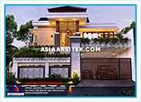 Jasa Arsitek Rumah Bekasi-Jasa Desain Rumah Bekasi-Jasa Gambar Rumah Mewah Tropis Modern Bekasi-Asia Arsitek-18