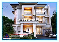 Jasa Arsitek Rumah Bekasi-Jasa Desain Rumah Bekasi-Jasa Gambar Rumah Mewah Tropis Modern Bekasi-Asia Arsitek-4