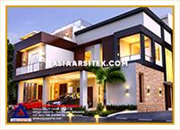 Jasa Arsitek Rumah Jakarta-Jasa Desain Rumah Jakarta Rumah Mewah Minimalis Modern-Asia Arsitek-4