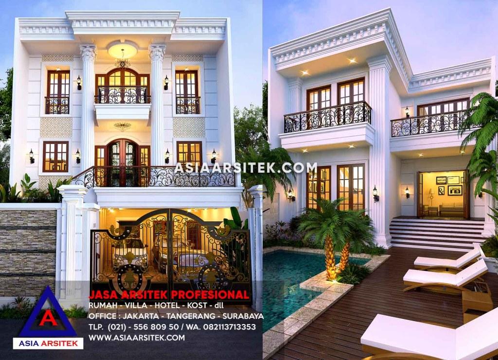 Jasa Desain Rumah Mewah Klasik Di Pasar Minggu Jakarta Selatan