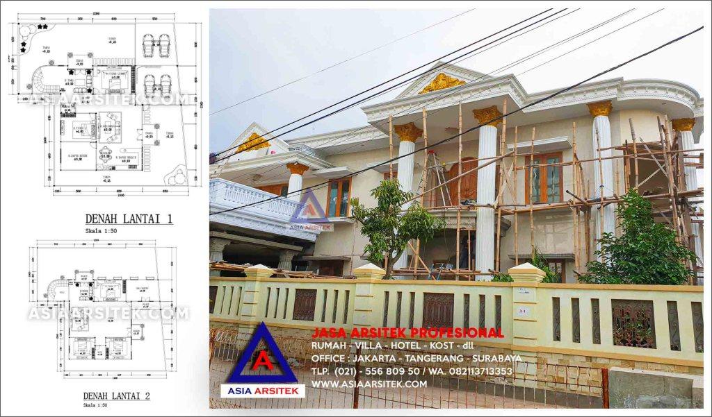 Cara Membangun Rumah Dari Nol Ibu Iis Di Bandung Proses Bangun Rumah Mewah Klasik Asia Arsitek cvr