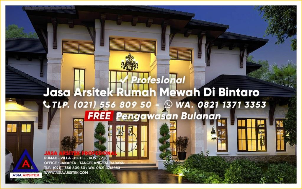 Jasa Arsitek Desain Rumah Mewah Di Bintaro