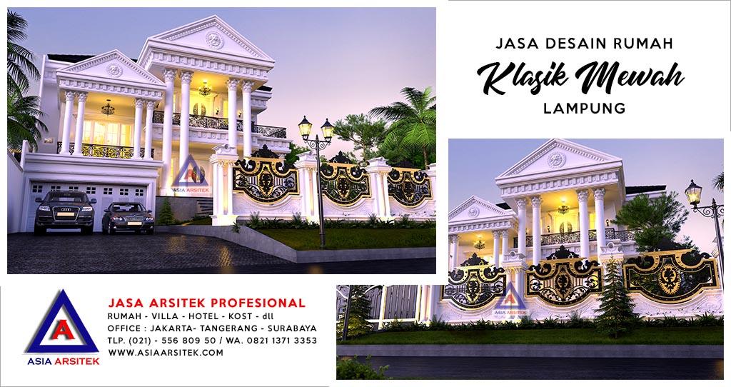 Jasa Arsitek Desain Rumah Mewah Di Lampung Sumatera