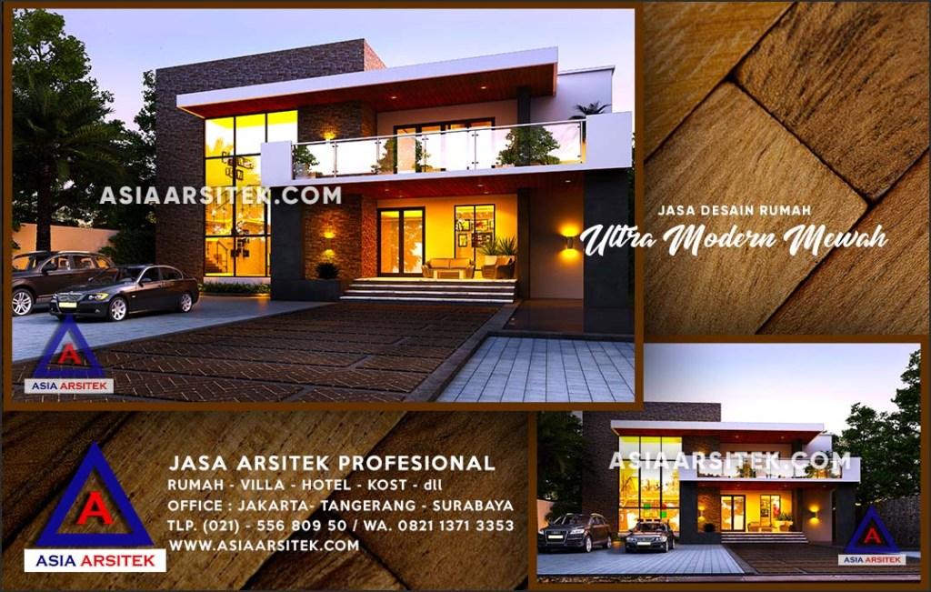 Jasa Arsitek Desain Gambar Rumah Mewah Di Cimpaeun Depok